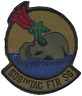 509th Tactical Fighter Squadron 509 TFS US Air Force USAF Embroidered Patch