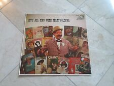 LETS ALL SING WITH JERRY COLONNA Record Album LP; Cover NR/MT; Record NR/MT;