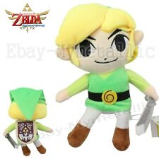 "The Legend of Zelda Link 19cm / 7.6"" Soft Stuffed Plush Toy Doll #02"
