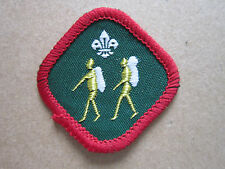 Hiker Proficiency Woven Cloth Patch Badge Boy Scouts Scouting