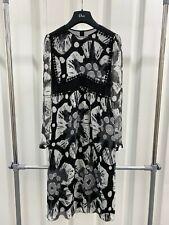 £1895 NEW BURBERRY PRORSUM SILK DRESS SKIRT IT36 UK6 COTTON PENCIL JACKET COAT