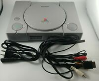 Sony PS1 Gray Console SCPH-9001 PlayStation 1 Bundle 8 games Clean & Tested