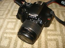 Very Nice Canon EOS T3 1100D Digital SLR Camera Body with 18-55mm IS Lens