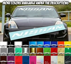 Windshield decal car sticker banner graphics window for or fits Nissan cars