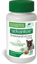 Advantus Small Dog Soft Chew Flea Treatment - 30 Count - exp 12/21