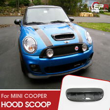 For MINI COOPER S R53 2006 Type DG Carbon Fiber Glossy Hood Scoop Exterior kits