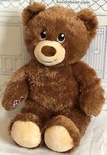 Build a Bear Lil Hazelnut Plush Stuffed Doll Brown Teddy Heartbeat Scent Lot Set