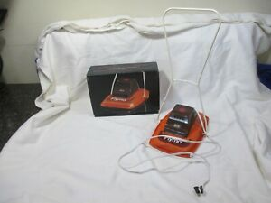 RARE VINTAGE FLYMO SALESMEN SAMPLE W/ORIGINAL BOX FLOATING ELECTRIC LAWN MOWER