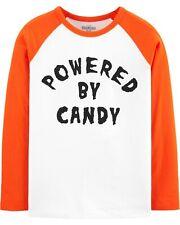 NWT Oshkosh Boys 6, 8 HALLOWEEN Theme POWERED BY CANDY...