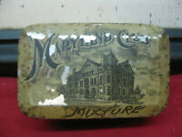 ANTIQUE VINTAGE MARYLAND CLUB MIXTURE TOBACCO TIN IN USED CONDITION