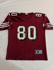 VINTAGE 90S SAN FRANCISCO 49ERS JERRY RICE STARTER JERSEY YOUTH LARGE