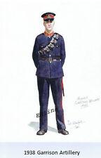 1938 Garrison Artillery postcard  - Phil Rutherford 2001
