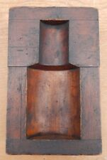 Very Nice Antique / Vintage Wooden Foundry Sand Casting Mold for Display