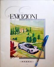 Pagani Automobili EMOZIONI magazine zonda-huayra owners exclusive