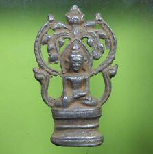 PERFECT! THAI BUDDHA PHRACHIEANGSAN ANTIQUE IN 18th C.