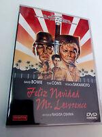 """DVD """"FELIZ NAVIDAD MR LAWRENCE"""" COMO NUEVO NAGISA OSHIMA DAVID BOWIE TOM CONTI"""