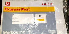 NEW Australia Post 10 x Express Satchels Metro Melbourne 1kg Prepaid & Tracking!