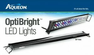 "Aqueon OptiBright LED Aquarium Light Fixture 30""-36"" - Free Shipping"
