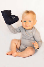 Newborn Baby Bodysuit Long Sleeve 100% Ultrafine Merino One Piece