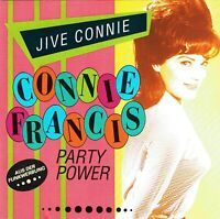 (CD) Connie Francis - Jive Connie - Party Power- Schöner Fremder Mann, Paradiso