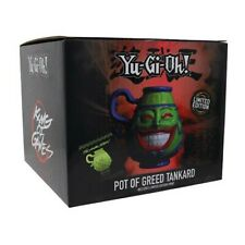 More details for yu-gi-oh! - pot of greed tankard - preorder - limited edition only 9999 pieces!!