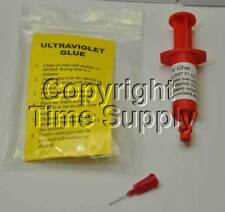 ULTRAVIOLET GLUE FOR WATCH CRYSTALS REPAIR