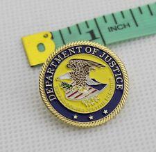US  DOJ DEPARTMENT OF JUSTICE METAL Pin