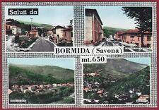 SAVONA BORMIDA 01 SALUTI da... VEDUTINE Cartolina FOTOGRAFICA viaggiata 1972