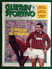 GUERIN SPORTIVO 1983 n 50 , L'OSCAR DI MILANO DAMIANI con Poster SAMPDORIA