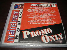 PROMO ONLY MAINSTREAM RADIO CD NOVEMBER 1998 NEW WHITNEY HOUSTON