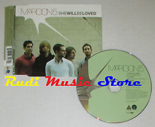 CD Singolo MAROON 5 She will be loved 2004 eu OCTONE 82876-63517-2  (S1) mc dvd