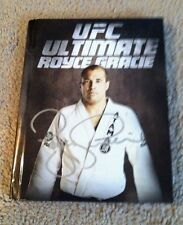 Royce Gracie signed DVD  w Photo Proof! UFC 200