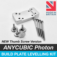 ANYCUBIC Photon S Build Plate Platform Levelling Upgrade Kit - With Thumb Screws