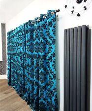 Rideaux et cantonnières bleus contemporains pour la maison
