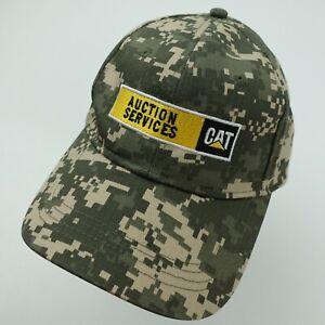 CAT Caterpillar Auction Services Ball Cap Hat Adjustable Baseball
