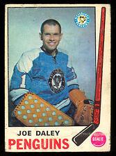 1969 70 OPC O PEE CHEE #152 JOE DALEY VG PITTSBURGH PENGUINS HOCKEY CARD