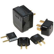 4 in 1 US / UK / EU / AU Universal 220/240V to 110/120V Converter + Plug Set