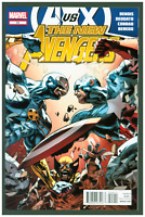 New Avengers #24 VF/NM Marvel Comics 2012 Captain America & Cyclops Cover