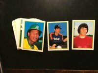 1983 TOPPS GLOSSY ALLSTARS COMPLETE SET 1/40 W/BRETT,RYAN, ROSE-NM-MT-FREE SHIP