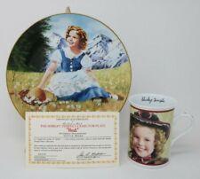 The Danbury Mint Shirley Temple Collector Plate & Mug Heidi w/Coa