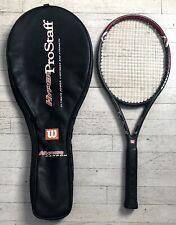 Wilson Hyper Carbon Pro Staff 5.0 Racquet Racket  & Case 4 1/2 Grip #4