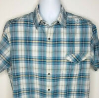 Kuhl Mountain Grown Outdoor Shirt Short Sleeve Plaid Mens Size L