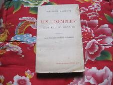 """Alexandre MASSERON: les """"exemples"""" d'un ermite siennois"""