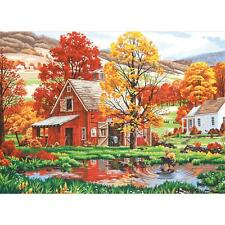 """FRIENDS OF AUTUMN Paint by Number Kit  20"""" x 14"""""""