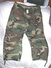 Genuine Military Goretex Pants XL Long Cold Weather Trousers Military Rain Pants