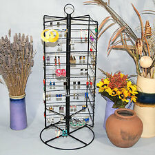 "Metal Rotating Earring Rack Wire Jewelry Display Stand 28 1/4""H"