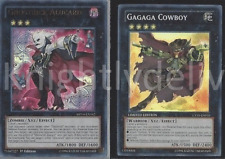 Yugioh Ghostrick Tournament Deck - Ghostrick Mary - Gagaga Cowboy - 46 Cards