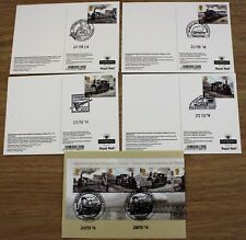 2014 CLASSIC LOCOMOTIVES OF WALES REAR FDI PHQ CARDS No386 VARIOUS HANDSTAMPS
