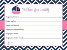 Nautical Baby Shower Greeting Cards and Invitations