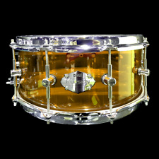 CHAOS ILLUSION ACRYLIC SNARE DRUM 14'' x 5.5'' - AMBER